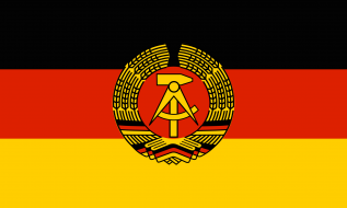 ГДР флаг
