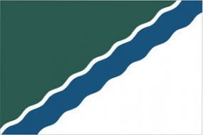 Флаг Новосибирск