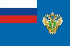 Флаг Федеральной службы по надзору в сфере транспорта (Ространснадзор)