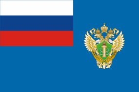 Флаг Федеральной службы по надзору в сфере связи, информационных технологий и массовых коммуникаций (Роскомнадзор)