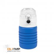 Бутылка для воды складная с карабином SPRING