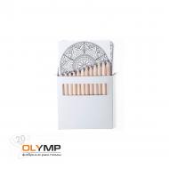 Набор цветных карандашей с раскрасками BOLTEX