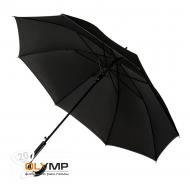 Зонт-трость OXFORD с ручкой из искусственной кожи