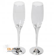 """Бокалы для шампанского """"Crystal"""""""