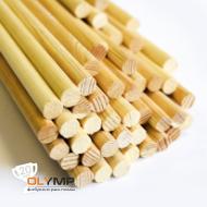 Палочка деревянная d=10 мм для флажков