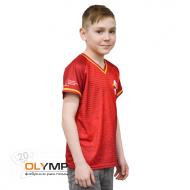 Футболка с полной запечаткой детская, модель с коротким рукавом, материал прима