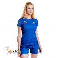 Форма волейбольная женская с коротким рукавом и O-вырезом
