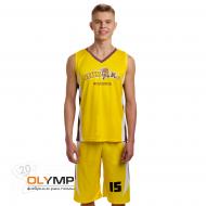 Форма волейбольная мужская, модель V-вырез без рукава