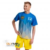 Форма волейбольная мужская, модель O-вырез с коротким рукавом