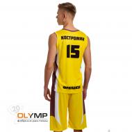 Форма волейбольная мужская без рукава с V-вырезом