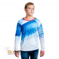 Спортивная футболка с длинным рукавом, мужская