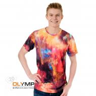 Спортивная футболка с коротким рукавом, мужская