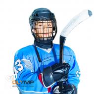 Хоккейный свитер болельщика с полной запечаткой, детский