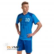 Форма футбольная мужская с коротким рукавом и О-вырезом