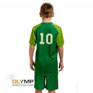 Форма футбольная детская с коротким рукавом и О-вырезом