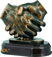 Фигурка литая RF2461 (Рукопожатие)