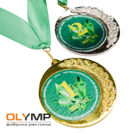 Вкладыш для медали металлический сублимационный