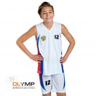 Форма волейбольная детская без рукава с V-вырезом