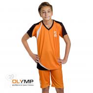 Форма волейбольная детская с коротким рукавом и V-вырезом