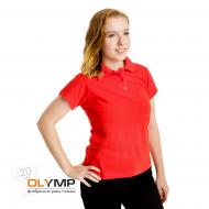 Рубашка-поло ТОП-ПРИНТ женская