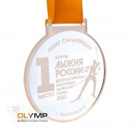 Медаль из акрила 1-слойная