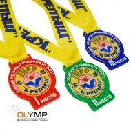 Медаль из акрила 1-слойная с УФ-печатью